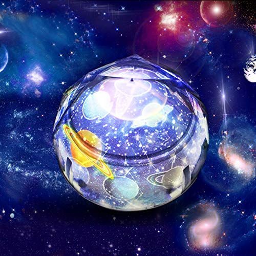 (Gifts for 2-8 Year Old Boys PUZ Life Star Light Projector Kids Night Light Baby Nursery Bedroom Lamp Girls Toys Home Decor Decoration Birthday Party PZ-XKD-1)