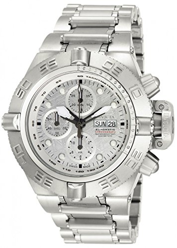 Invicta Men's Subaqua Noma III Swiss Automatic Meteorite Dial Stainless Steel Watch 12441