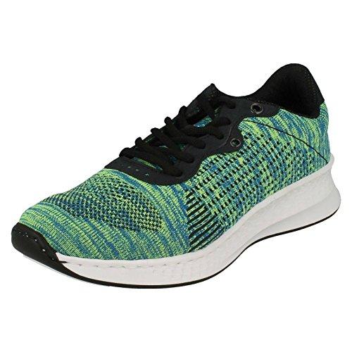 Mehrfarbig Pazifik Damen Sneaker Rieker Gelb N5606 blau 7vaYRq