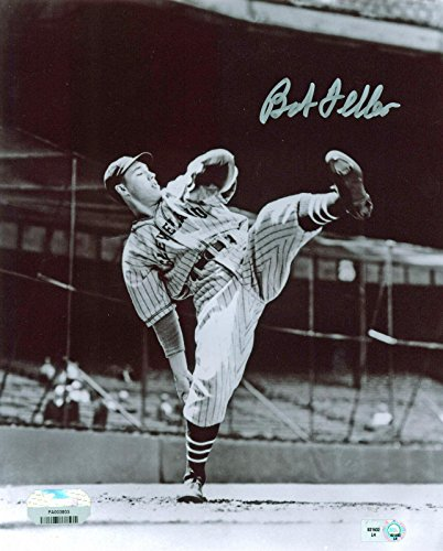 Autographed Bob Feller Photo - 8x10 Fanatics COA - Fanatics Authentic Certified - Autographed MLB Photos