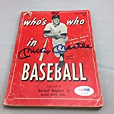 Mickey Mantle Signed 1957 Who's Who in Baseball Magazine PSA DNA Gem Mint 10
