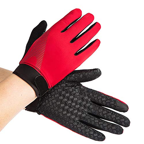 Rancheng Full Finger Glove Sunscreen Windproof Gloves Cycling Bicycle Bike Riding Gloves