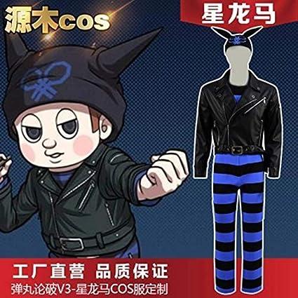 Danganronpa V3 Killing Harmony Ryoma Hoshi Cosplay Costume Suit Halloween Cosplay Costume Female S Clothing Amazon Com Ryoma hoshi (星 竜馬, hoshi ryōma). killing harmony ryoma hoshi cosplay