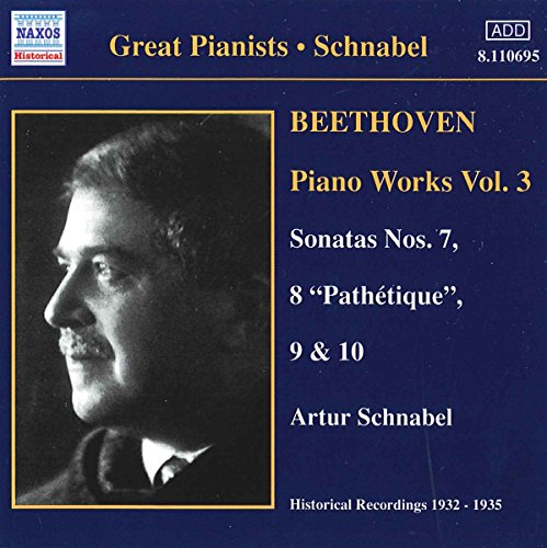 - Beethoven - Piano Works,Vol. 3: Piano Sonatas Nos. 7,8,9 & 10,Opp.10/3;13;14/1,2