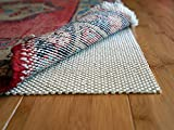 Super Lock Natural by Rug Pad USA, Rubber Non Slip Rug Pads, Gripping Open Weave Rubber Rug Pads (5x8)