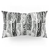 Society6 Hard Wood Pillow Sham King (20'' x 36'') Set of 2