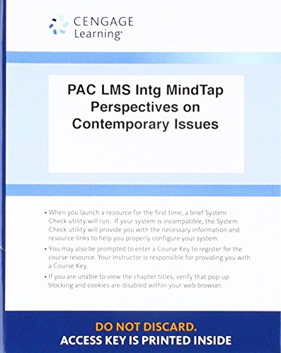 LMS Integrated MindTap English, 1 term (6 months) Printed Access Card for Ackley's Perspectives on Contemporary Issues,
