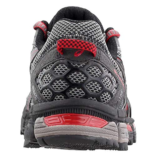 ASICS Men's Gel-Kahana 8 Trail Runner Shark/Black/True Red 7 M US by ASICS (Image #2)