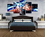 NATVVA Painting for Living Room Wall Decor Painting for Bedroom Wall Decorations Split Painting Wall Art