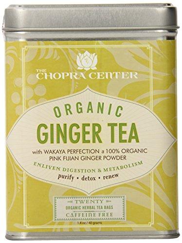 Harney & Sons Organic Chopra Center Ginger Tea in 20ct. Tin