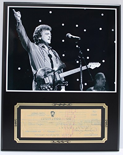 CONWAY TWITTY COUNTRY SINGER REPRODUCTION SIGNED LIMITED EDITION CHECK - Conway Outlets