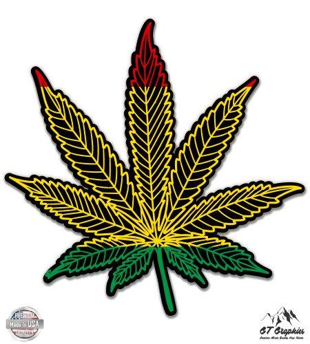 Express Reefer (Rasta Marijuana Leaf - 3