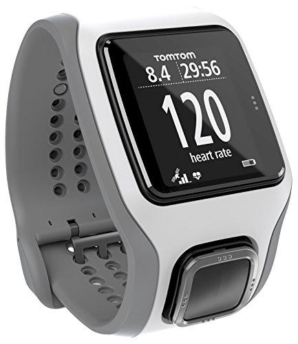TomTom Runner Cardio - Reloj GPS para correr, color plateado