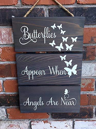 (CELYCASY Butterflies Appear When Angels are Near Wood)