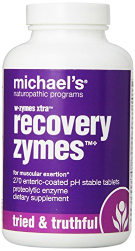 Cheap Michael's Naturopathic Programs Xtra Recovery W-Zymes – 10x Pancreatin Nutritional Supplements, 270 Count
