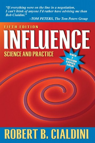 Influence: Science and Practice (5th Edition) cover