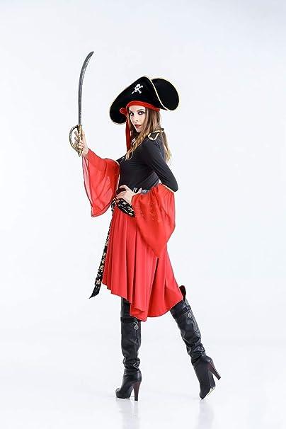 HS-ZM-06 Traje del Pirata Falda De La Mujer Traje De Fantasía ...
