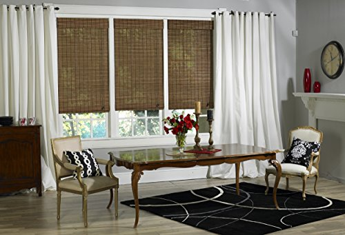 Lewis Hyman 2132448 Victoria Hills Natural Roman Shade, 24-Inch Wide by 48-Inch Long