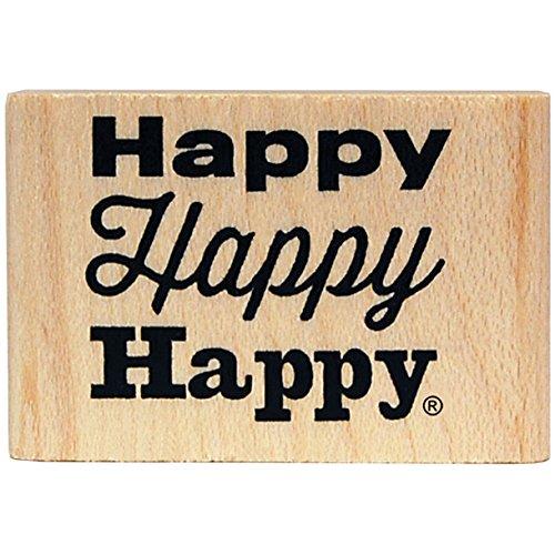 KellyCraft Innovations dc-50063 Duck Commander Happy Happy Happy Holz Halterung Stempel B00P28EAXS | Starker Wert