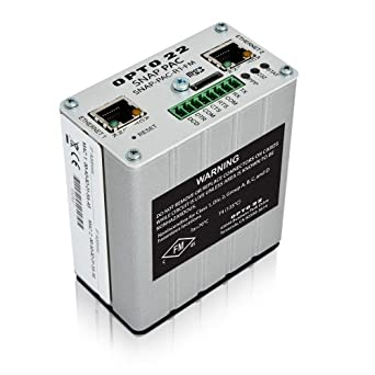 Opto 22 SNAP-PAC-R1-FM - SNAP PAC R-series Rack-mounted Programmable Automation Controller, Analog/Digital/Serial I/O Processing, Factory Mutual Approved