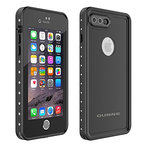 OUNNE iPhone 7 Plus/8 Plus Waterproof Case, Underwater Full Sealed Cover Snowproof Shockproof Dirtproof IP68 Certified Waterproof Case for iPhone 7 Plus/8 Plus 5.5inch by OUNNE (Image #1)