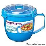 Sistema 21141 To To Go Collection Soup Mug, 30.4 oz
