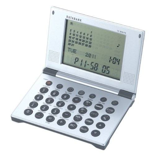- Natico Multifunctional World time Clock, Calendar, Calculator with Data Bank (10-WT263)