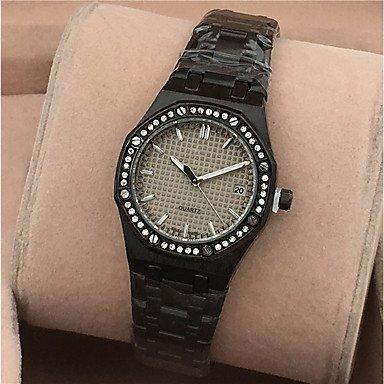 Bellos Relojes, reloj de muñeca reloj de reloj de pulsera imitación de diamante para las