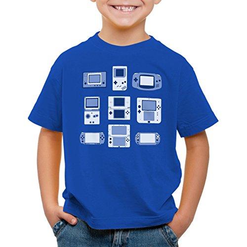 Enfants shirt Portable Console Pad n Vidéo Jeux Pour Bleu A T Game Contrôleur t Cqw0xnX4