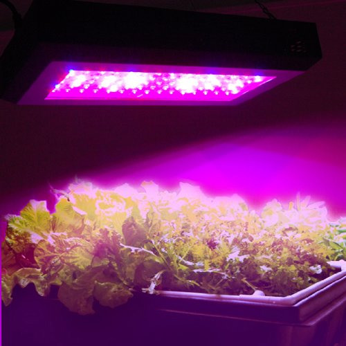 HQRP Professional Hydroponic and Flowering 270W Full Spectrum Plant Grow Light Panel High-Power 90 LED 6 Band 7200 Lumen with UV IR LED + UV Meter by HQRP (Image #2)