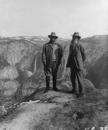 John Muir Teddy Roosevelt Yosemite Photo Great Americans Photos 8x10