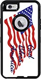 God Bless America Quote The American Flag Otterbox Defender iPhone 6 Vinyl Decal Sticker Skin