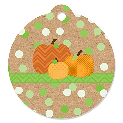 Pumpkin Patch - Fall & Halloween Party Favor Gift Tags (Set of 20)