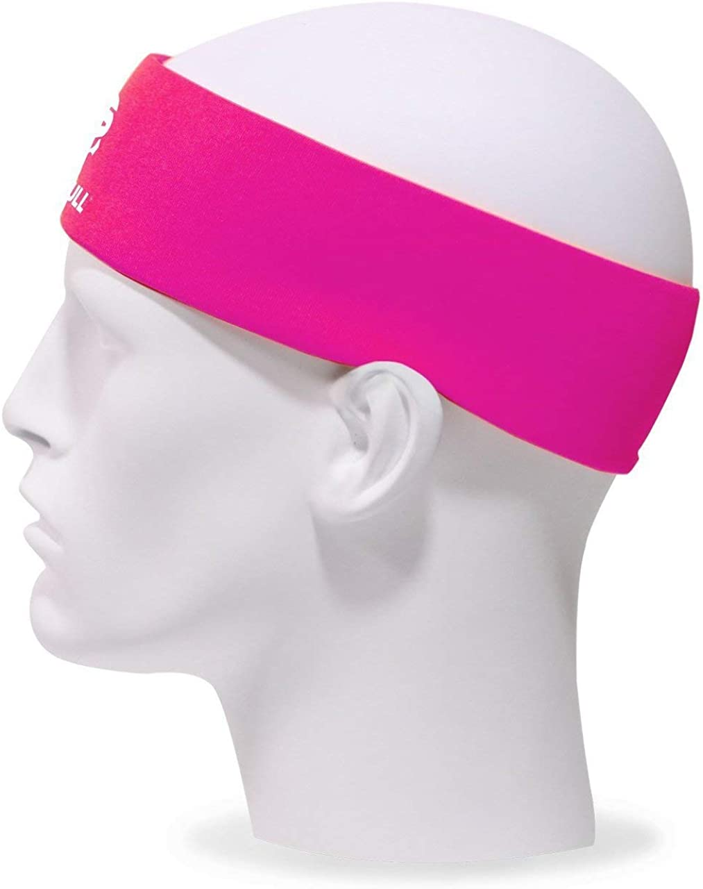 Impact-Absorbing Technology Moisture-Wicking Sweatband One Size Fits Most 2nd Skull Protective Sports Headband