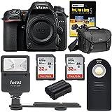 Nikon D7500 DSLR Camera Body with Bag + Battery + Flash + Remote+ 64GB Kit
