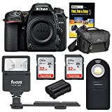 Nikon D7500 DSLR Camera Body Bag and 64GB Accessory Bundle