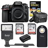 Nikon D7500 DSLR Camera Body Bag and 64GB Accessory Bundle