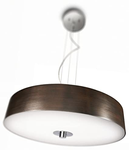 Philips 403391148 ecomoods energy efficient dimmable pendant light philips 403391148 ecomoods energy efficient dimmable pendant light chrome and wood aloadofball Choice Image
