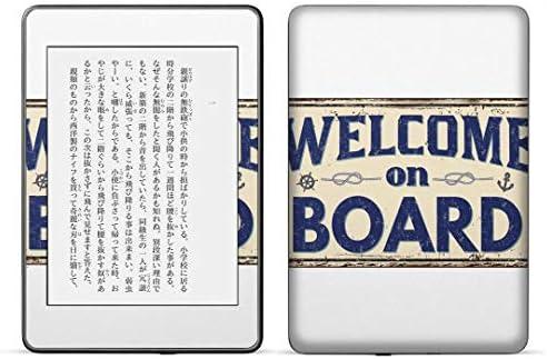 igsticker kindle paperwhite 第4世代 専用スキンシール キンドル ペーパーホワイト タブレット 電子書籍 裏表2枚セット カバー 保護 フィルム ステッカー 016475 英語 英文