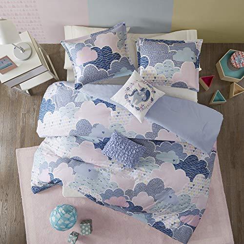 Urban Habitat Kids Cloud Duvet Cover Set, Twin/Twin XL, Blue