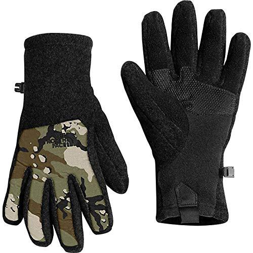 - THE NORTH FACE Denali Etip Gloves Men   TNF Black / Burnt Olive Green Woodchip Camp Print (A6M1) (M)