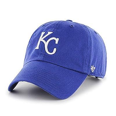 Kansas City Royals 47 Brand Blue Clean Up Adjustable Hat Cap