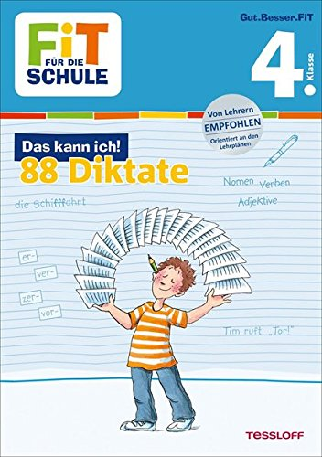 FiT FÜR DIE SCHULE  Das Kann Ich  88 Diktate 4. Klasse