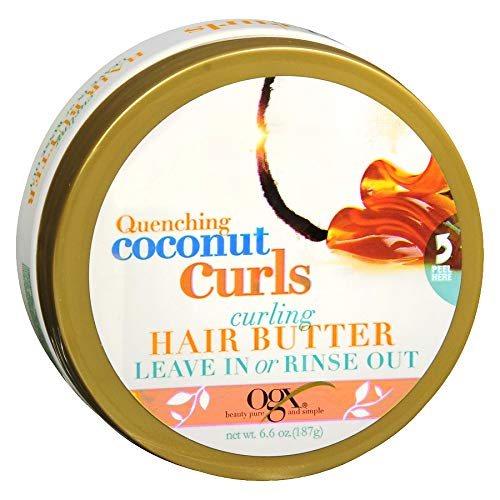 Ogx Quenching Coconut Curls Curling Hair Butter 6.6oz (2 Pack) in USA