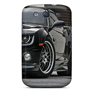 Cute Appearance Cover/tpu BSx3294MZBz Black Camaro Ss Case For Galaxy S3