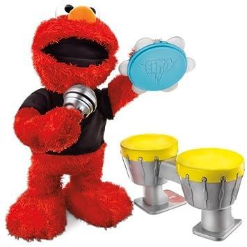 Hasbro Barrio Sésamo - Elmo Rockero