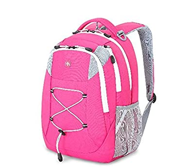 Amazon.com | Swiss Gear Backpack Pink & White | Kids' Backpacks