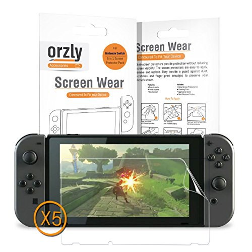Orzly Screen Protector Compatible Nintendo