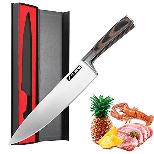 Aocome 8 Inch Pro Chef's Knife-High Carbon German Steel