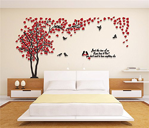 Family Living Room Design Ideas That Will Keep Everyone Happy: 3d Couple Tree Wall Murals For Living Room Bedroom Sofa